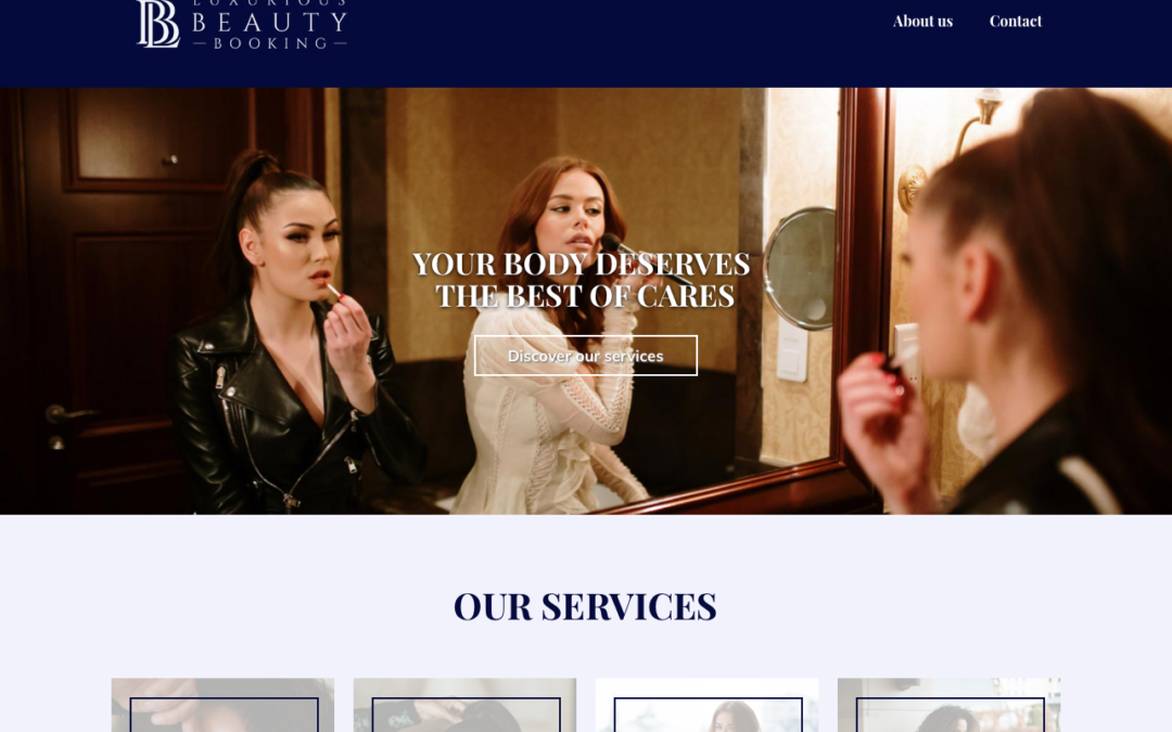 Luxurious Beauty Booking